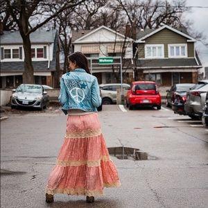 spell designs | ocean maxi skirt